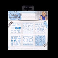 Sara Signature Winter Wonderland Foil Transfers x 6 & Foil Rolls -624385