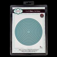 Dies by Sue Wilson Noble Collection - Double Stitched Circles - 9-624582