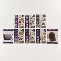 Threaders Bag Stamping Complete Collection - 2 Bag Patterns & 6 A-626668