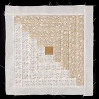Handmade by Hayley Cut and Quilt Block Log Cabin - 100% Cotton-627370