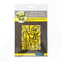 Clarity Fresh Cut Art Nouveau Aperture Die - Damask Rose-627675