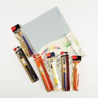 Kuretake Bimoji Brush Lettering Set - Practice Kit & Water Brush -627834