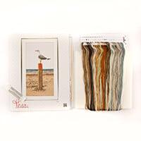 Thea Gouverneur Seagull Cross Stitch Kit on Aida - 30 x 65cm-628047