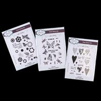Creative Expressions 3 x Stamp Sets - Dotty About You, Beautiful -629184