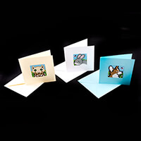 Pixelhobby UK Animals Card Kit - Baseplates, Cards & Envelopes & -629484