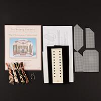 Nutmeg Christmas Morning Scene Cross Stitch Kit-630182