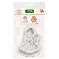 Sugar Buttons Bride Silicone Mould-630692