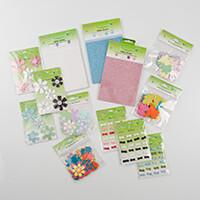 Crafts Too Glitter Embellishment Bumper Pack - inc Glitter Card, -630993
