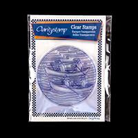 Claritystamp Rowers Round Fine Line Stamp Set-631490