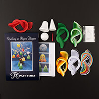 Past Times Quilling Decorations For Christmas Quilling Kit-632274