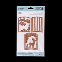 Spellbinders Thinking of You Woodland Layered Scene Die Set - 4 D-633901