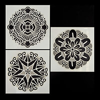 Dawn Bibby Set of 3 6x6