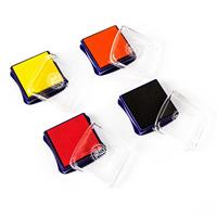 Threaders - Fabric Ink Pads - Red, Orange, Canary & Black-636036