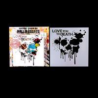 AALL & Create Stencil - Skull Splash-636146