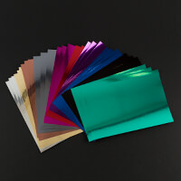 Craft Creations 140gsm 30 A4 Assorted Colours Mirri Paper-636892