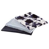 Perfect Occasions Set of 3 100% Polyester Fabrics - True Blue Col-637591