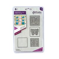 Gemini Create a Card Die Set - Butterfly Patchwork - 6 Dies-638022