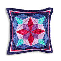 Lina Patchwork EPP Eclipse Cushion Pattern with Paper Pieces-638606