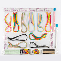 Assorted Size & Colour Quilling Papers - 14 Packs-638818