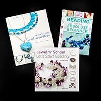 Search Press Set of 3 Beading Tutorial Books-640570