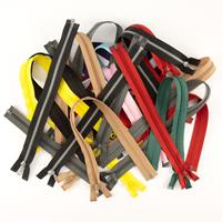 Assorted Zip Bundle - Set of 25 Open End Zips - 10 to 40 Inches-644643