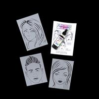 Pearlywinks 3 x A5 Stencils - Jemima, Sapphire and Jake with Wink-647374