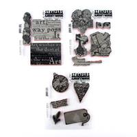 Tim Holtz Stampers Anomymous 3 x Classic Favourites Stamp Sets - -648793