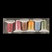 Marathon Pack of 6 x Iris Ultra Cotton Quilting Threads-651489