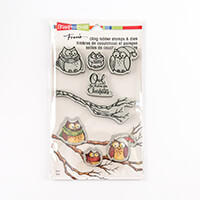 Stampendous Owl Be Home Stamp and Die Set - 5 Stamps and 3 Dies-651663