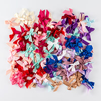 Craft Buddy 150 Assorted Pre-Tied Bows-654943