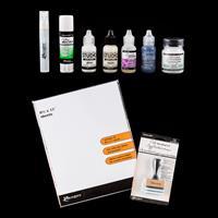 Ranger Assorted Blending Tool Kit - Stamping Paper, Gels, Blendin-655651