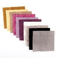 Milly-Tilly Winter Wool Felt Tweed - 10 Pieces-658133