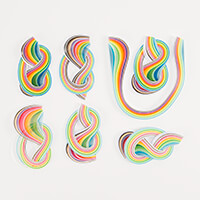 Quilling Paper Accessory Pack - Spring and Summer Shades-658901