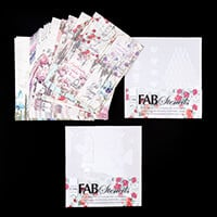FabScraps Life is Beautiful Carders Pack and 2 x 8x8