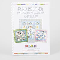 Quilter's Trading Post Bundles of Joy Patchwork & Applique Baby Q-663402