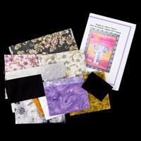 Juberry Fabrics Wall Hanging Kit - Pattern & Applique Fabrics-664837