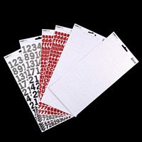 Kaisercraft Set of 6 Alpha & Letter Sticker Sheets-665212