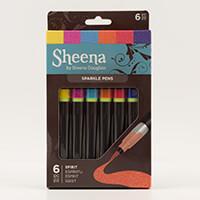 Sheena Douglass Set of 6 Sparkle Pens - Spirit-666144
