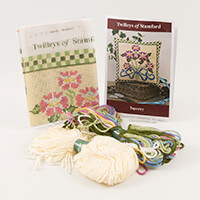 Twilleys of Stamford Morning Glory Tapestry Cushion Kit-671187
