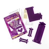 Gina-B Silkworks Teneriffe Lace Loom Set  #14 Straight Border & C-671546
