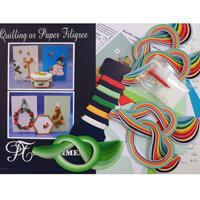 Past Times Quilling Christmas Quilling for Cards and Boxes Kit-671581
