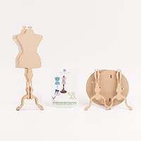 Candy Box Crafts Mannequin Stands Twin Pack-673013