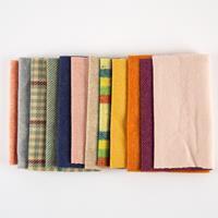 Fabric Affair Donegal Tweed Singles - 12 x Pre-Cut Pieces of Twee-673407