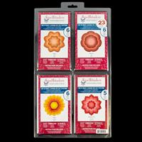 Spellbinders 4 x Nestabilities Die Sets - Peony, Blossom One and -673837