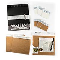 Zutter Scrapbook Assortment - Corrugated Board, Page Protectors, -674249