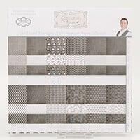 Sentimentally Yours Chalkboard Essentials Premium Paper Pad - 8x8-674737