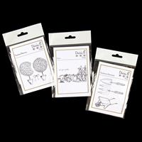 Daisy B Topiary Beauty, Grow & Gardeners Essentials Stamp Sets - -675001
