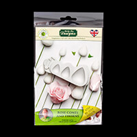 Katy Sue Flower Pro Rose Cones & Thorns Mould-675237