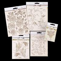 Spring by The Craft Box SnipArt Set - 5 Designs-678711