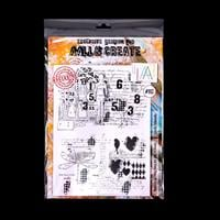 AALL & Create A4 Stamp - Eclectic Silhouette-680219